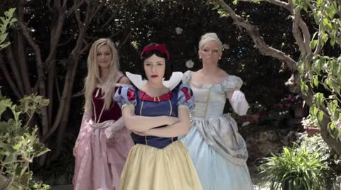 There's been a Disney rap battle and it's hilarious