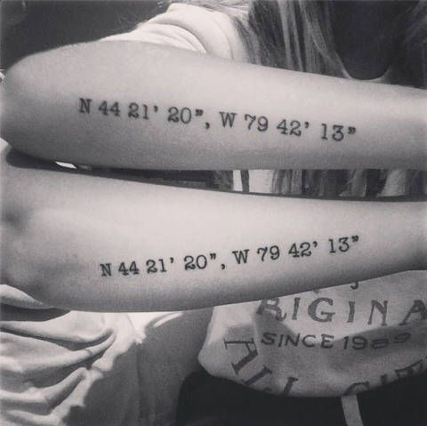 20 of Instagram\'s cutest matching sister tattoos