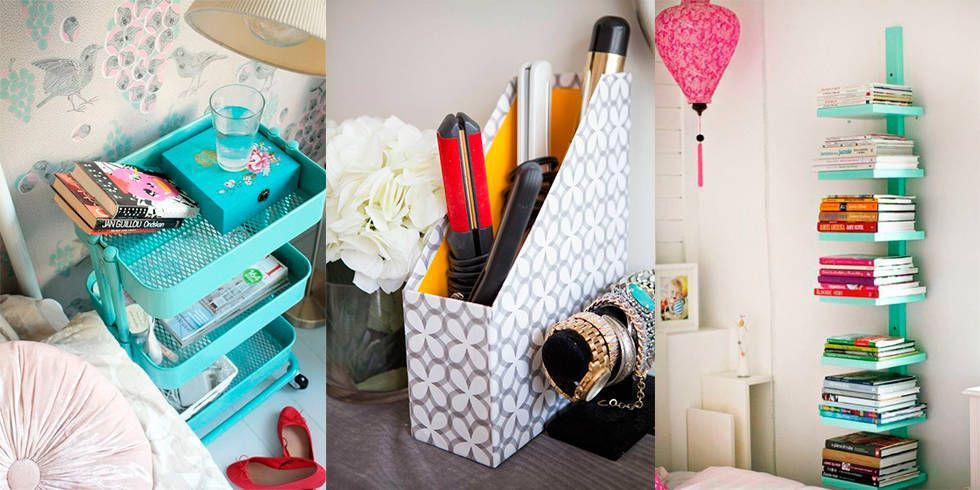 Interior Clever Storage Ideas For Small Bedrooms storage solutions for small places