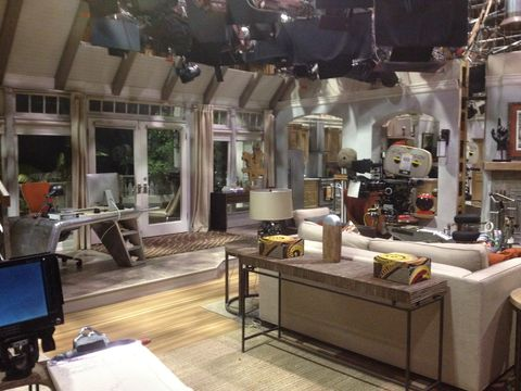 The Inside Of Mila Kunis And Ashton Kutcher 39 S Amazing House Is The Two And A Half Men Set Right