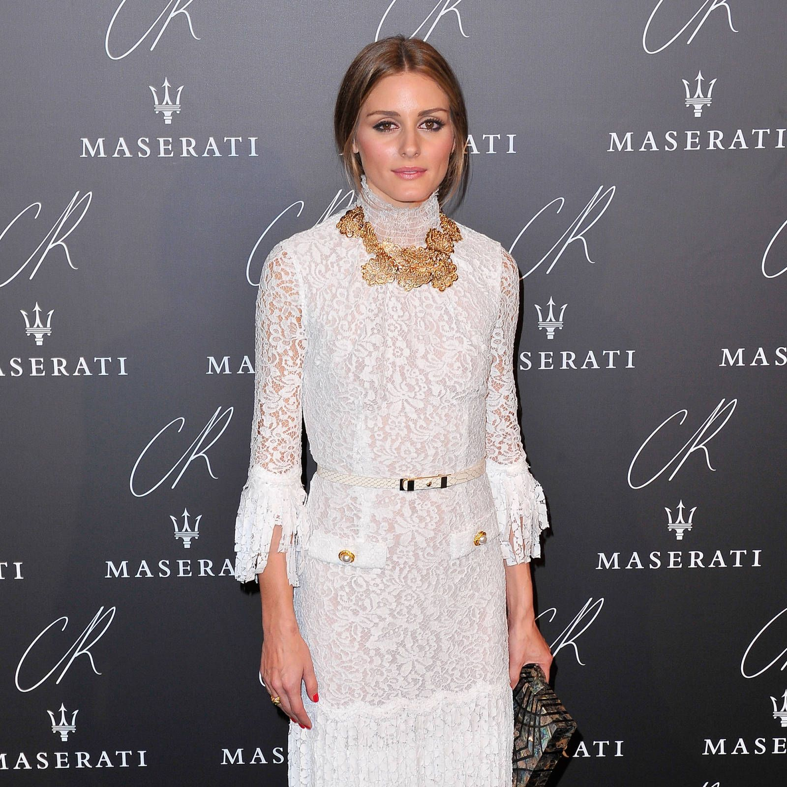 Olivia Palermo at the CR Fashion Book launch