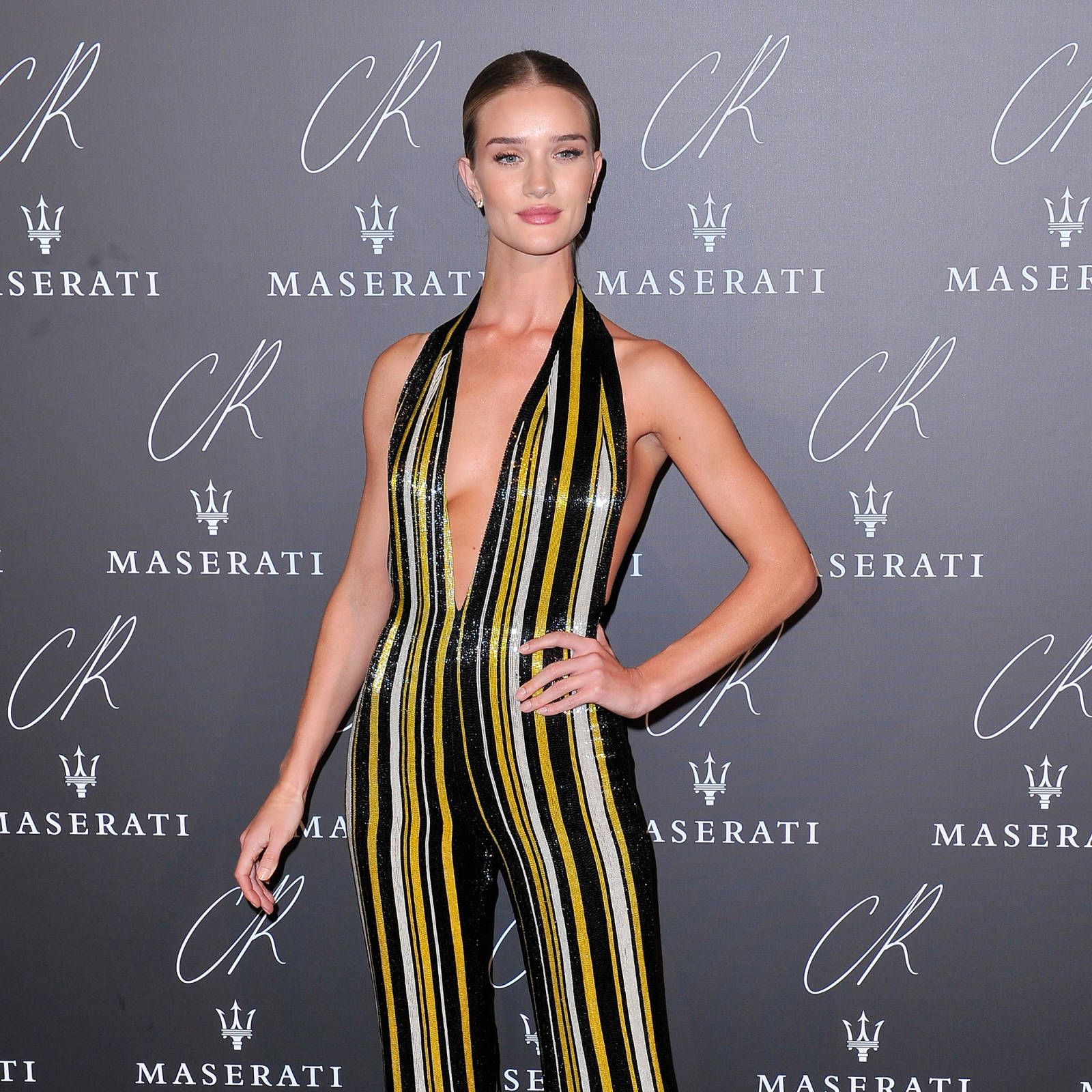Rosie Huntington-Whiteley at the CR Fashion Book launch