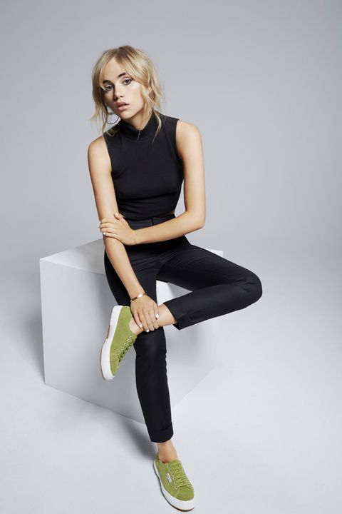 Suki Waterhouse for Superga