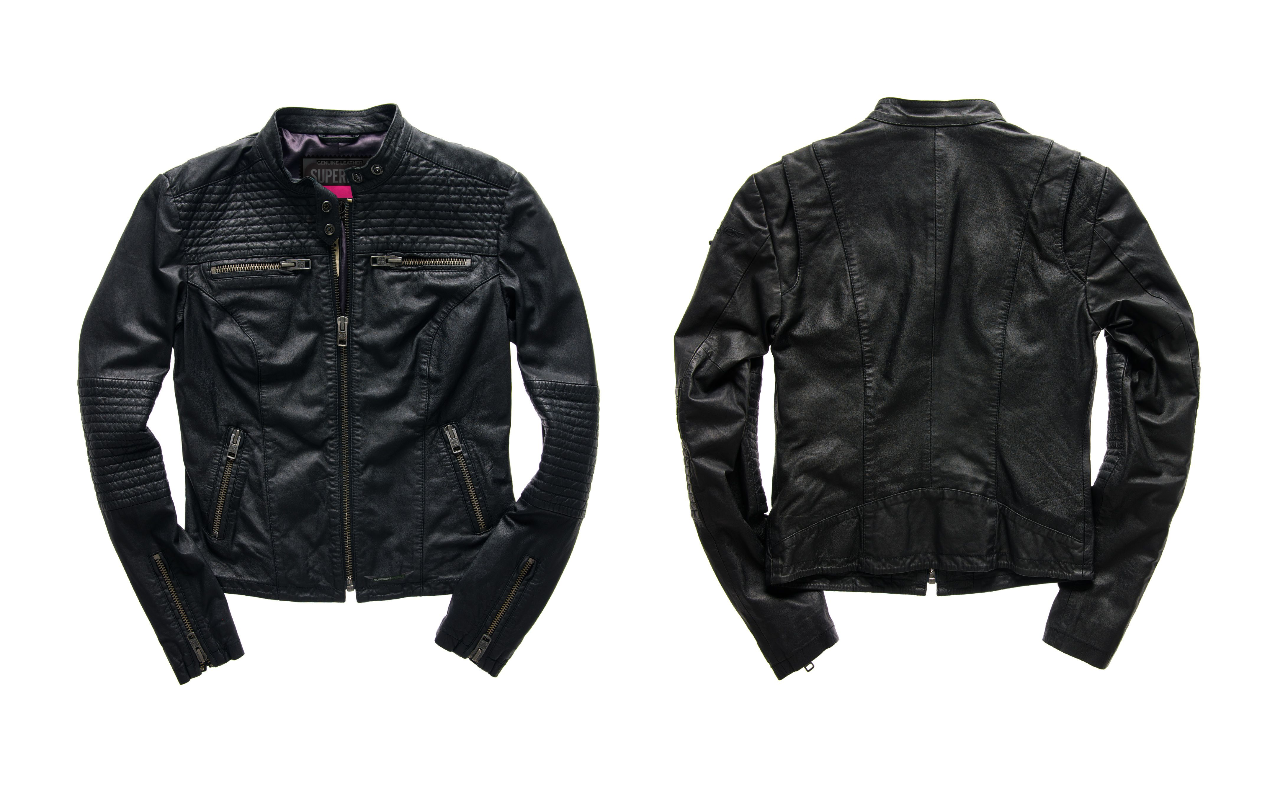 Leather jacket superdry - Win One Of Five Fabulous Superdry Leather Jackets As Featured In Cosmopolitan