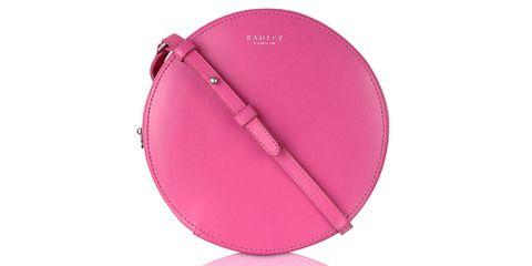 Radley Bloomsbury Small Cross Body Bag in hot pink