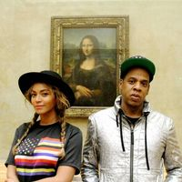 beyonce jay z the louvre
