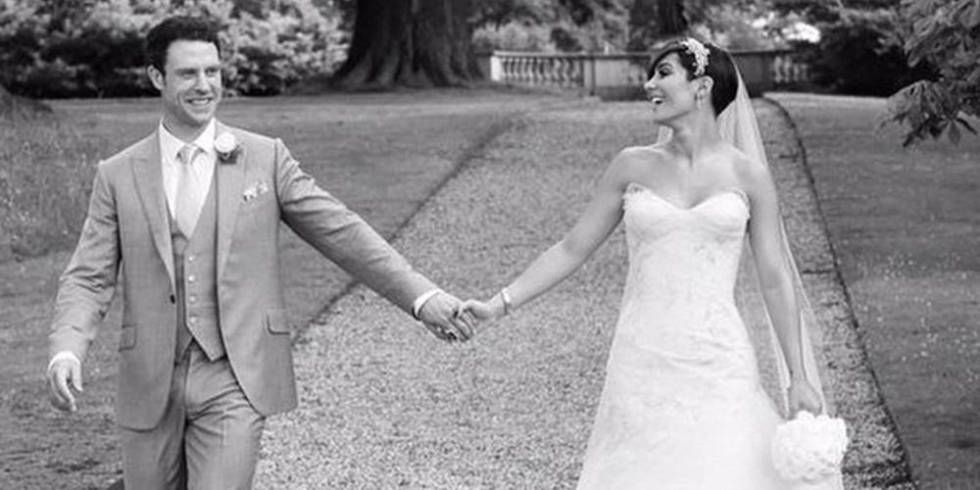 Frankie Sandford Shares Wedding Pictures At Last In Gorgeous Black And White Shots
