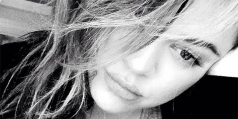 Khloe Kardashian with no makeup on - makeup-free celebrity pictures - Cosmopolitan.co.uk