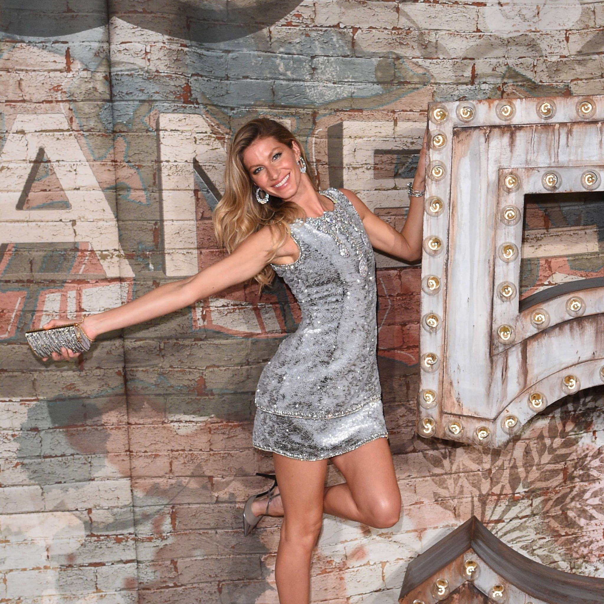 Gisele at the Chanel No 5 Dinner to celebrate The Film by Baz Luhrmann