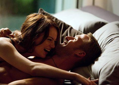 Emma Stone and Ryan Gosling sex scene - Crazy Stupid Love