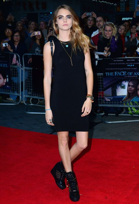 Cara Delevingne at the Face of an Angel premiere