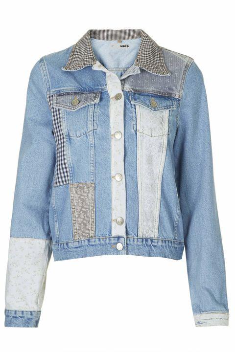 "<a href=""http://www.topshop.com/en/tsuk/product/sale-3246534/sale-3267090/jackets-coats-816/moto-patchwork-western-jacket-3184272?refinements=category~%5b398679%7c398526%5d&bi=1&ps=20"" target=""_blank"">Moto Patchwork Western Jacket, £25 reduced from £52,"