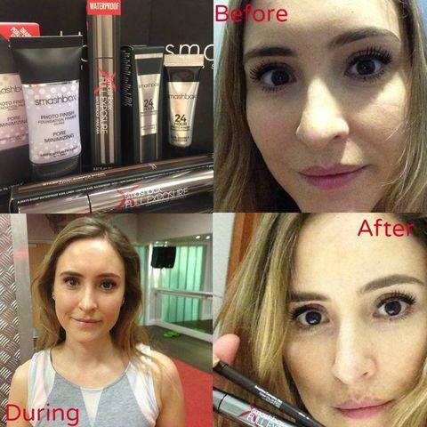 Smashbox waterproof makeup review