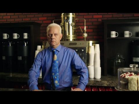 Gunther from Friends in Netflix promo