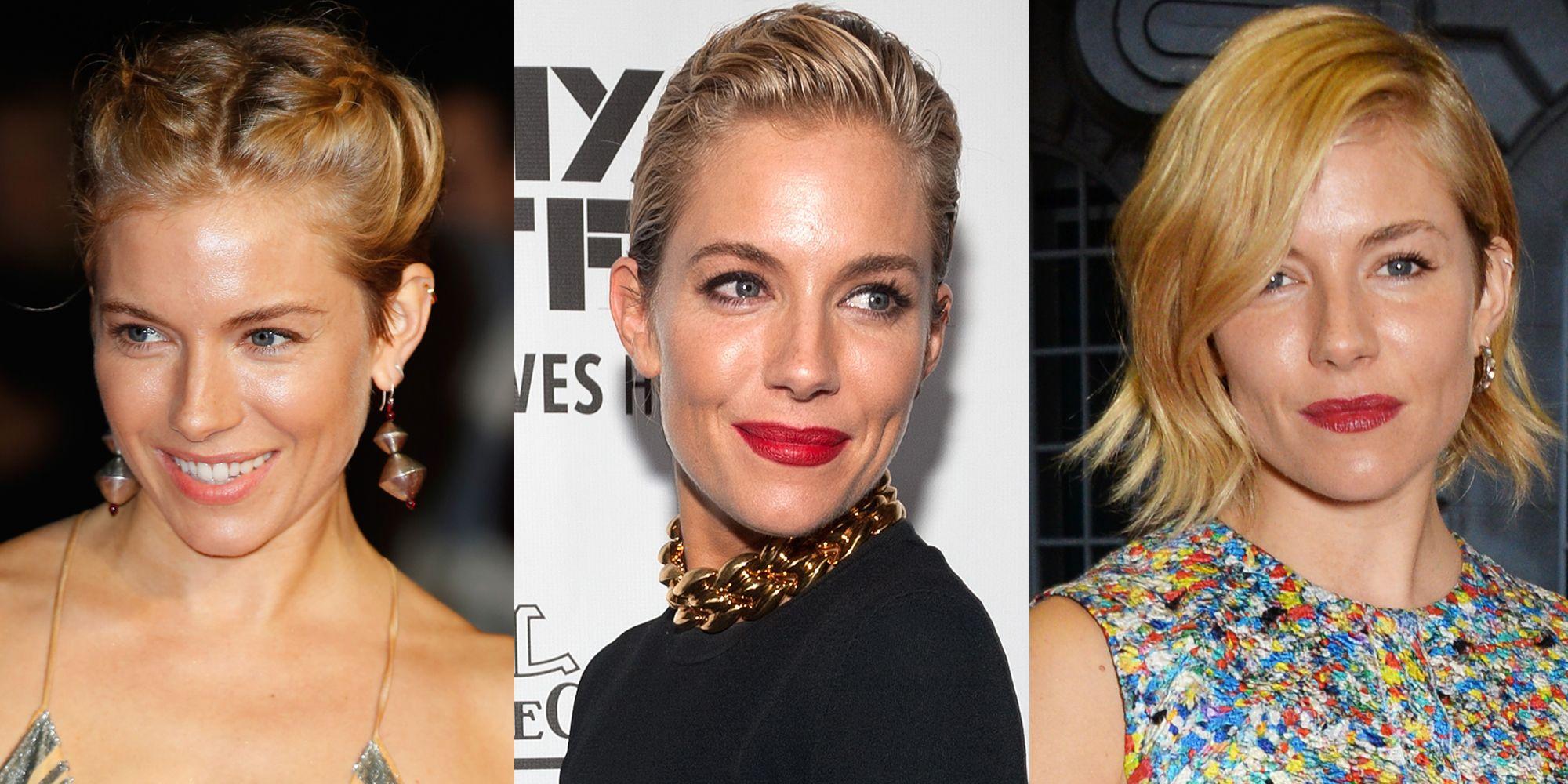 Sienna Miller S Bob Cut Hairstyles