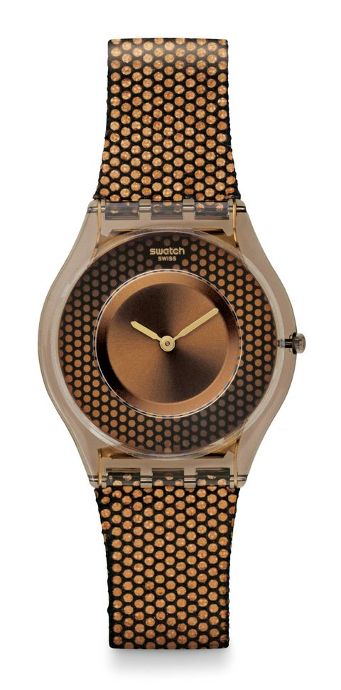 Product, Brown, Yellow, Analog watch, Watch, Orange, Amber, Fashion accessory, Watch accessory, Font,