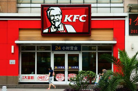 Girl spends seven whole days in KFC following her break up