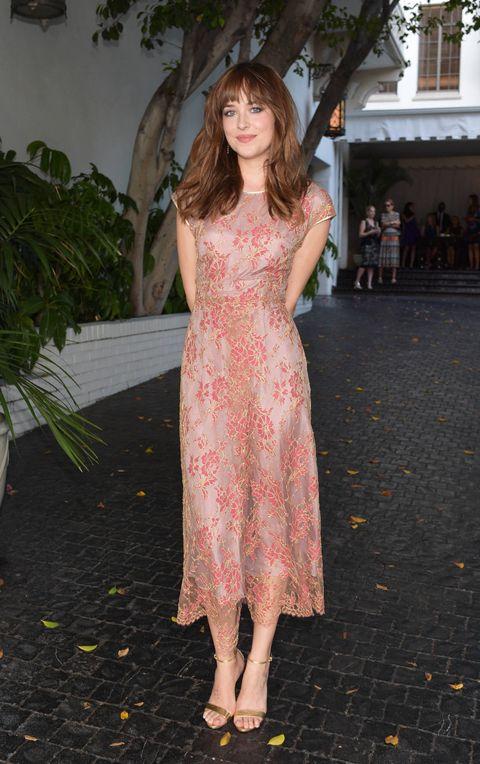 Dakota Johnson at CFDA/Vogue Fashion Fund