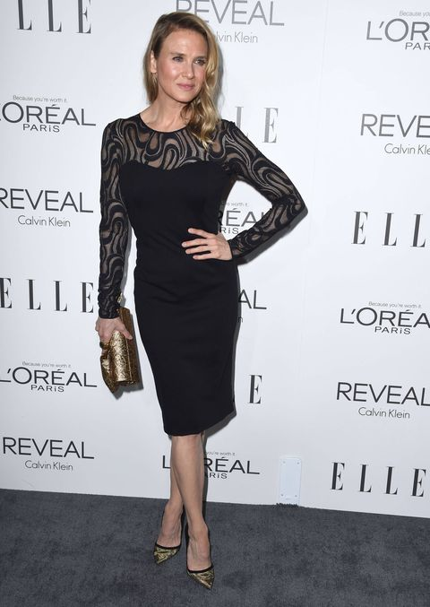 Renée Zellweger at the Elle Magazine Women In Hollywood party