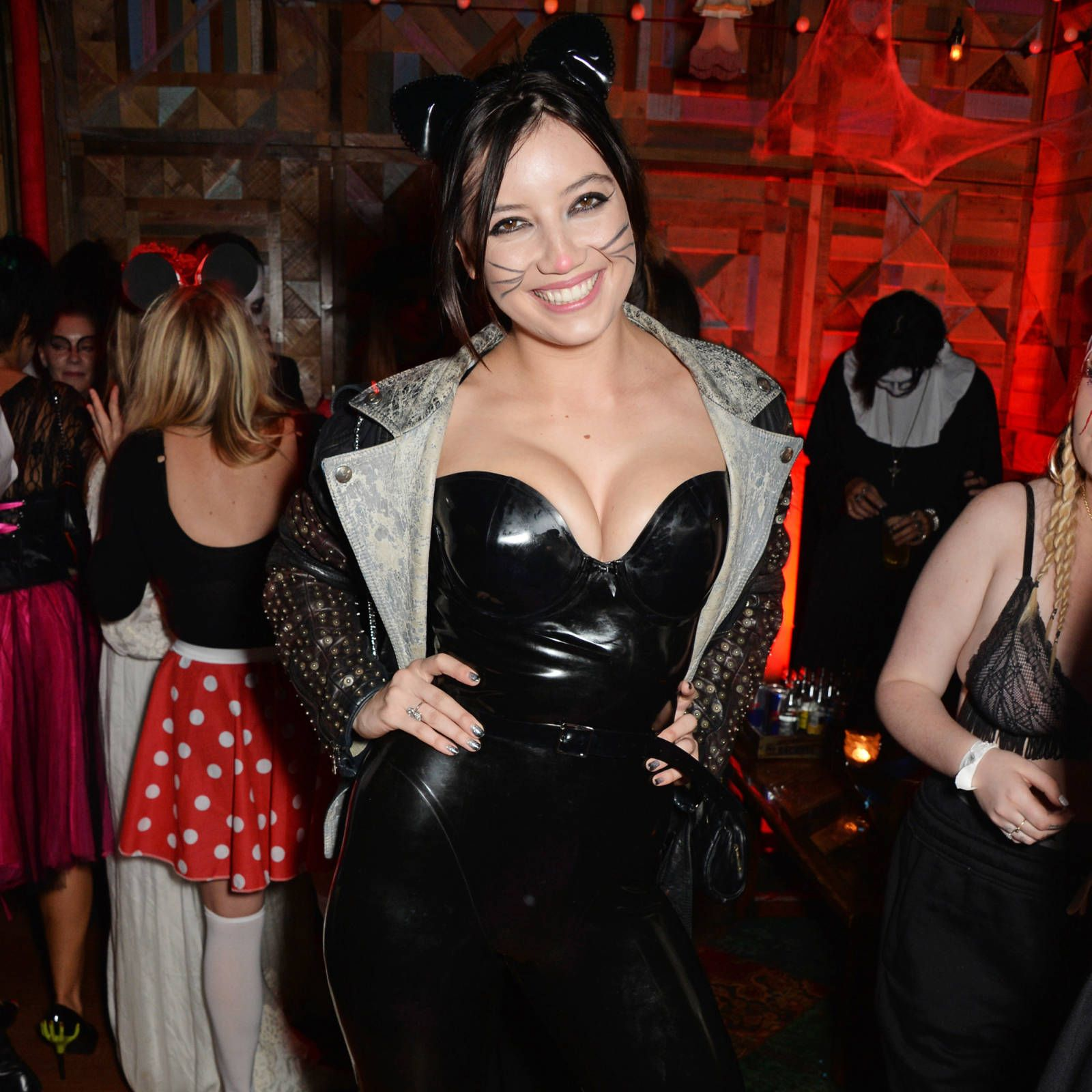 Kate Moss, Rita Ora, Nick Grimshaw and more dress up for Halloween at London's Death of a Geisha party