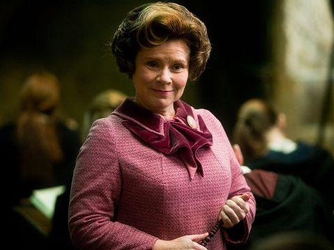 Dolores Umbridge from Harry Potter