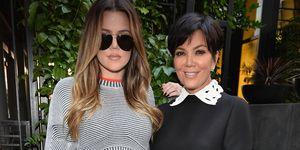 Khloe Kardashian and mum Kris Jenner