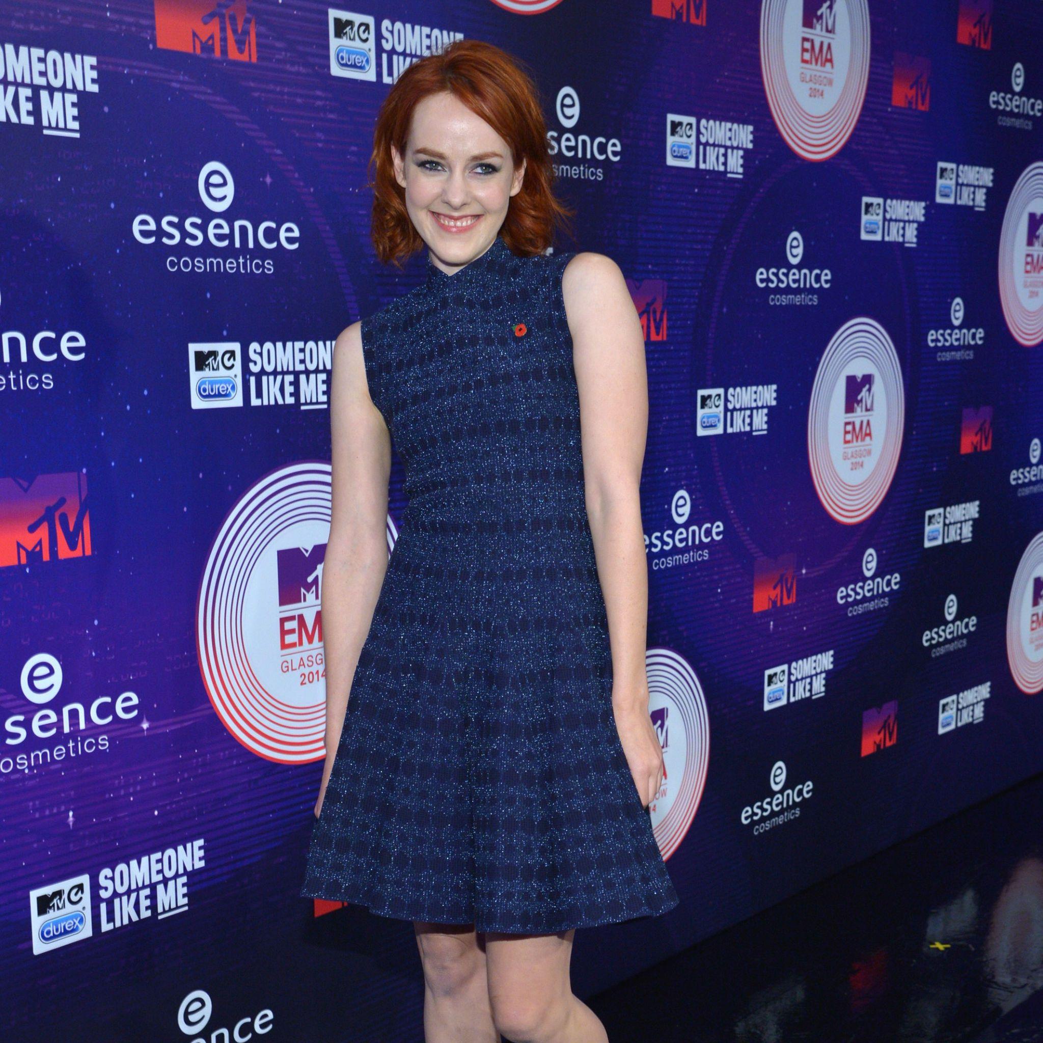 Jenna Malone at MTV EMAs 2014