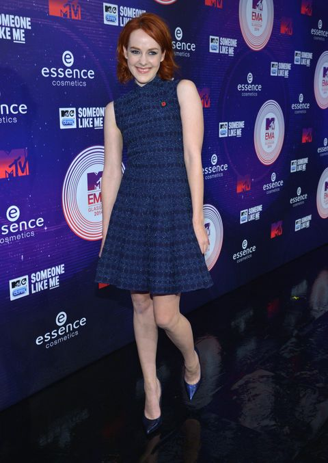 Jenna Malone at MTV EMAs 2014