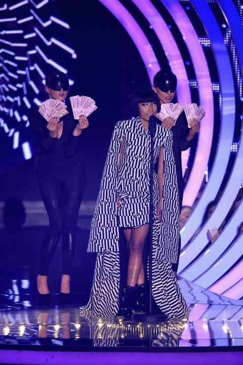 Nicki Minaj at MTV EMAs 2014