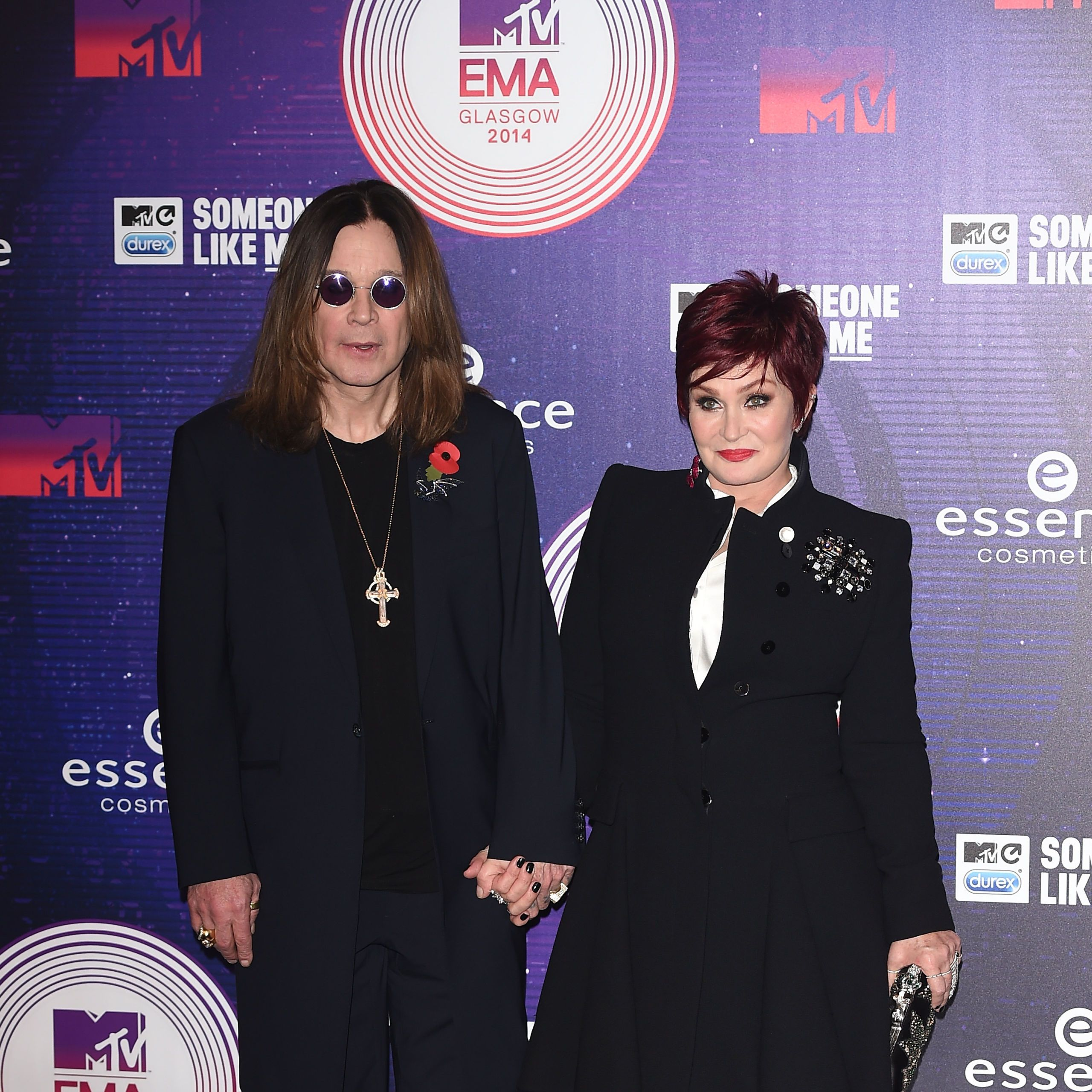 Sharon and Ozzy Osbourne at the MTV EMAs 2014