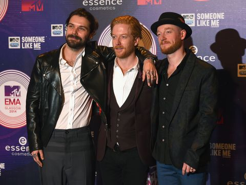Biffy Clyro at MTV EMAs 2014