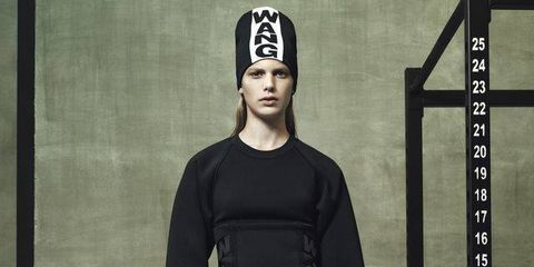 Here's a little preview of the new Alexander Wang x H&M collection