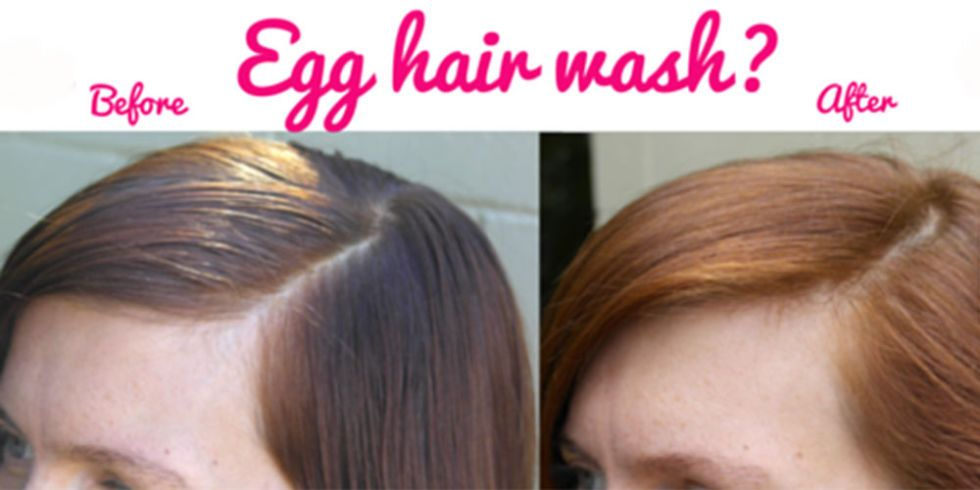 How To Make Egg Hair Wash