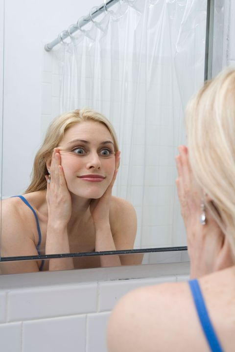 Women encouraged to practice facial expressions in the mirror to 'avoid rape'
