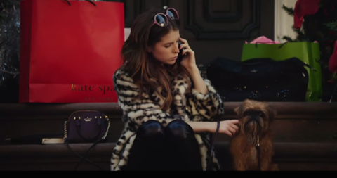 Anna Kendrick in the Kate Spade advert