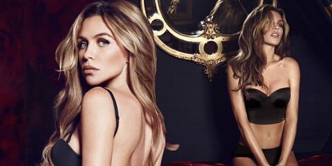 Abbey Clancy modelling Ultimo s Christmas collection 97181458d