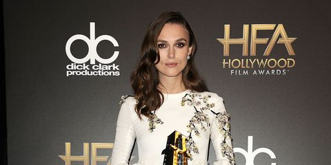 Best looks from the 18th annual Hollywood Film Awards red carpet - Keira Knightley