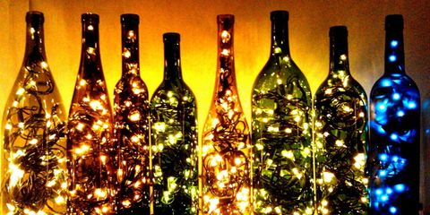 empty wine bottles check - How To Make A Wine Bottle Christmas Tree