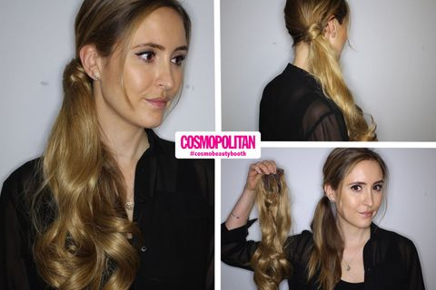 Temporary hair extension reviews temporary hair extensions tested in the beauty booth pmusecretfo Image collections