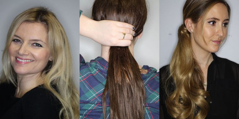Temporary hair extension reviews temporary hair extensions tested in the beauty booth pmusecretfo Images