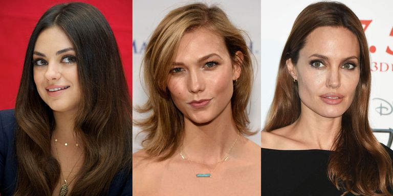 Hair tricks for your face shape hair tricks for your face shape celebrities with different face shapes urmus Image collections
