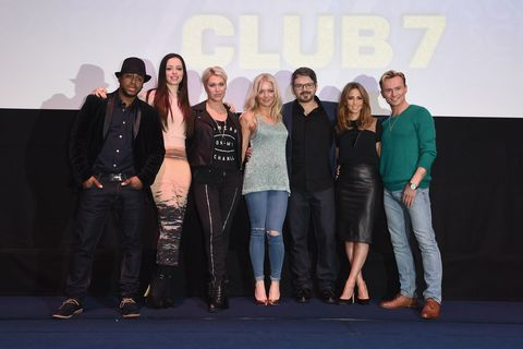 S Club 7 press conference going on tour again