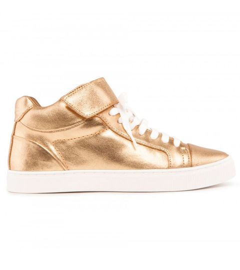 "<p>These Bimba Y Lola golden trainers are the easy way to lift an outfit from boring to festive in next to no time. </p><i><a href=""http://www.baileys.com/en-gb/home.html"" target=""_blank"">Find out more about Baileys Chocolat Luxe Limited Edition bottle</a></i></p>"