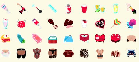sexting emoji are here