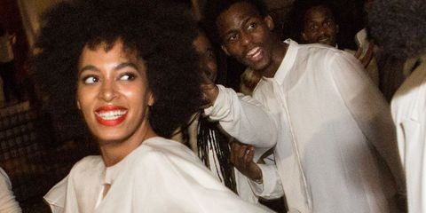 Solange Knowles - wedding makeup we want to copy