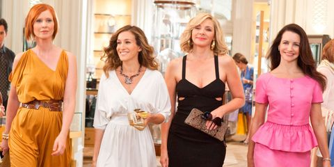kim cattrall is so on board with the idea of sex and the city 3