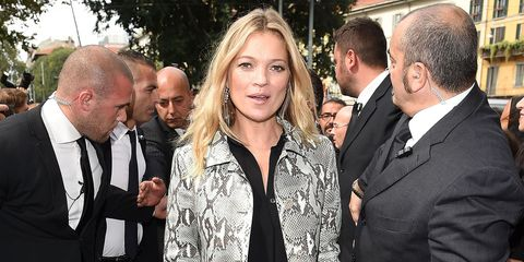 Party beauty tips from Kate Moss
