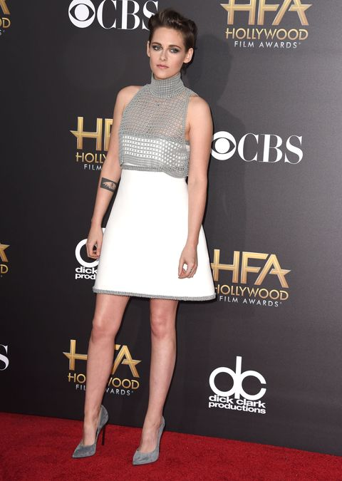 Kristen Stewart on the red carpet at the 18th annual Hollywood film awards. In a recent interview with Loaded, Kristen commented that she  feels lonely and isolated as an actress.