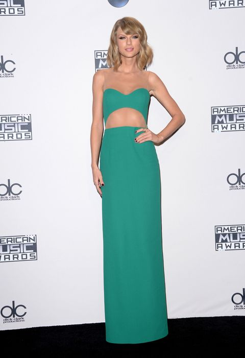 Taylor Swift at the AMAs 2014