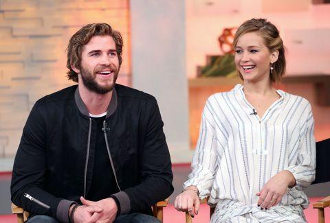 Jennifer Lawrence talks her friendship with Liam Hemsworth